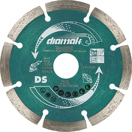 Makita D-61123 Diamak General Purpose Diamond Blade -