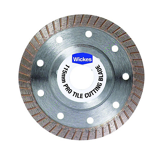 Tile Cutting Blade 115mm Wickes Co Uk