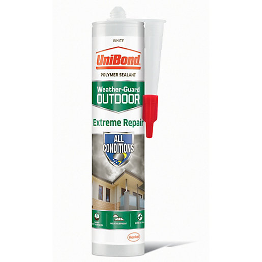 UniBond Extreme Repair Sealant - White 300ml