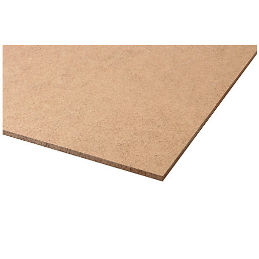 Wickes General Purpose Hardboard Sheet - 3mm x