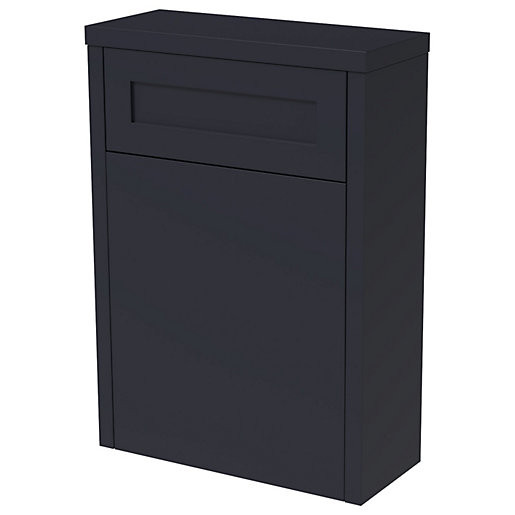 Wickes Hayman Indigo Blue Traditional Freestanding Toilet Unit
