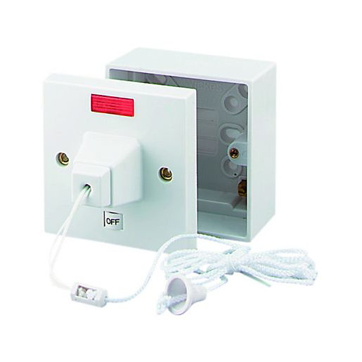 Ceiling switches for showers energywarden