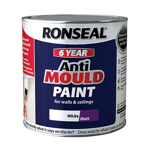 Ronseal Anti Mould Paint 2 5l Wickes Co Uk