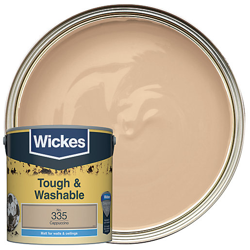 Wickes Cappuccino - No. 335 Tough & Washable