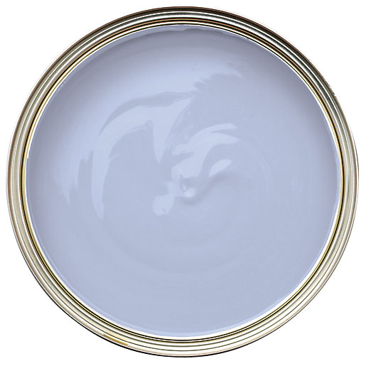 Wickes One Coat Gloss Paint - Lilac Crush