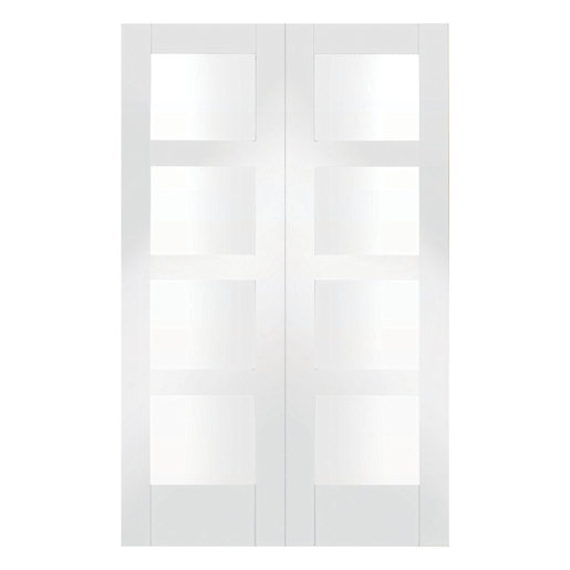 Breathtaking wickes internal french doors ideas plan 3d house wickes barton glazed internal rebated white primed door pair 1981 planetlyrics Gallery