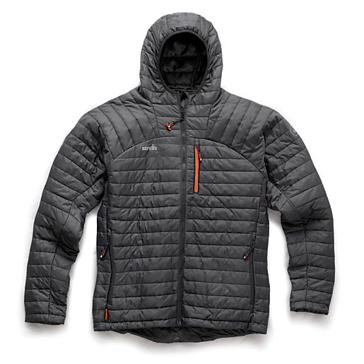 Scruffs Expedition Thermo Jacket - Charcoal