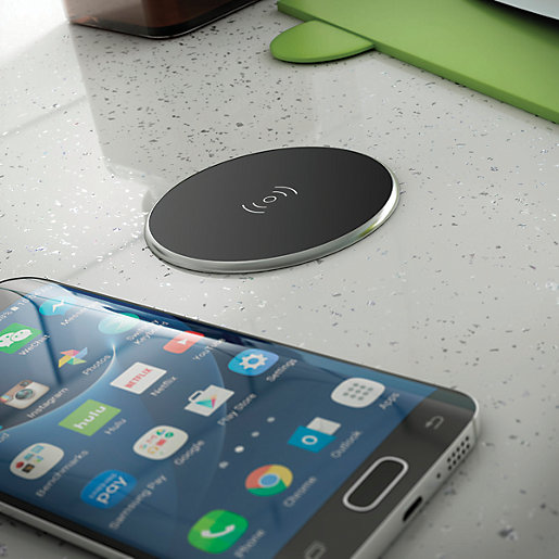 Security Store Near Me >> Wickes Integrated Qi Compatible Wireless Charger | Wickes.co.uk