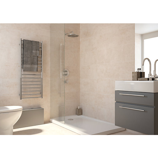 Bathroom Wall Floor Tiles 15 Off Wickescouk - Beige-bathroom-tiles