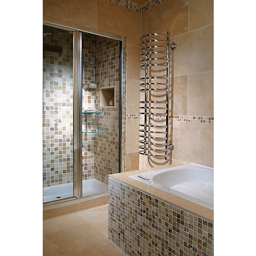 travertine wall tiles kitchen wickes classic kremna travertine wall amp floor tile 600 x 6363