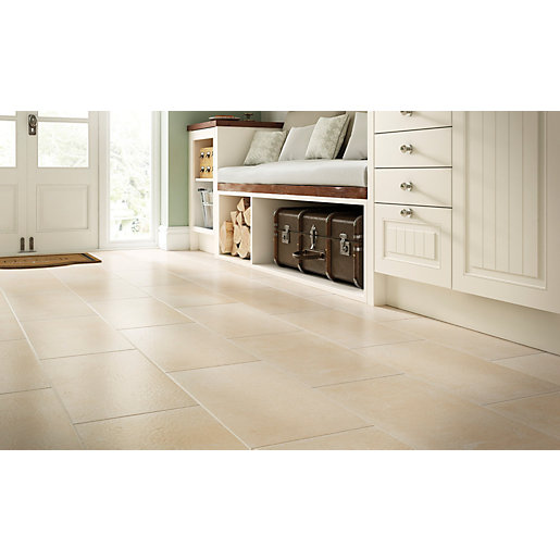 cream floor tiles for kitchen wickes patio tiles tile design ideas 8493