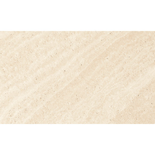 Kitchen Wall Tiles Ivory: Wickes Replica Ivory Ceramic Tile 498 X 298mm