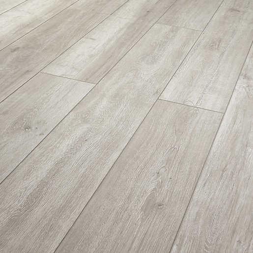 Wickes arreton grey laminate flooring for Floating laminate floor