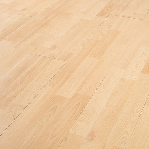 Wickes Beech Effect Laminate Flooring 25m2 Pack Wickes