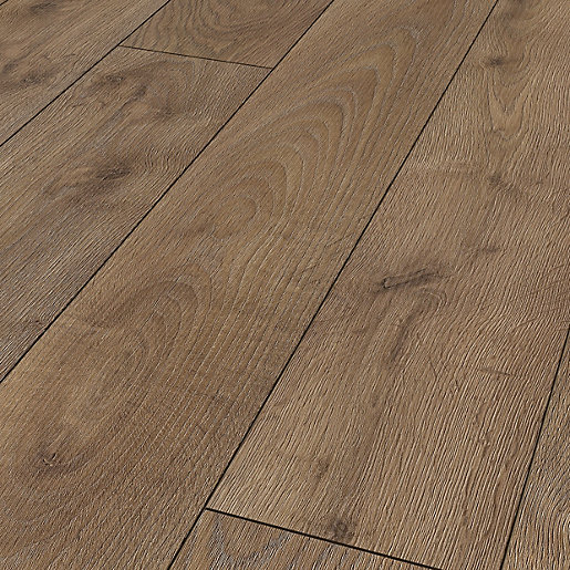 Wickes Bergen Oak Laminate Flooring 148m2 Pack Wickes