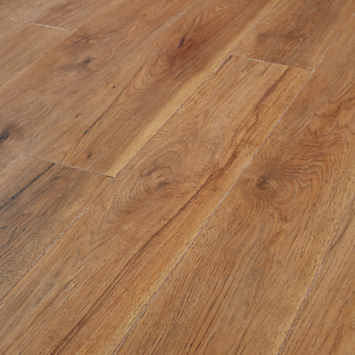 Wickes Rockland Hickory Laminate Flooring 2 22m2 Pack