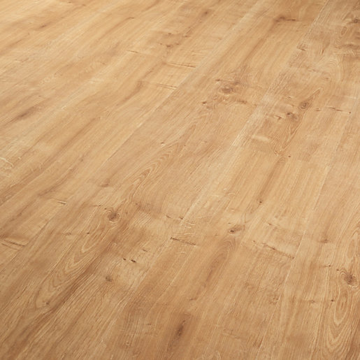 Wickes sevilla oak laminate flooring for Hard laminate flooring