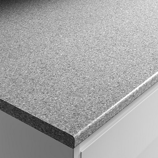 Wickes Worktop Matt Laminate Dapple Slate 2000 X 600 X 28