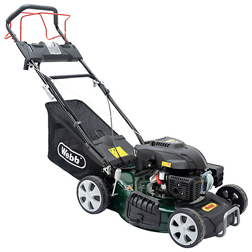 Classic 46cm 18inchSelf Propelled Electric Start Petrol Rotary