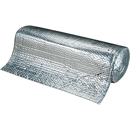 Wickes Thermal Insulation Foil Roll 600mm X 8m Wickes Co Uk