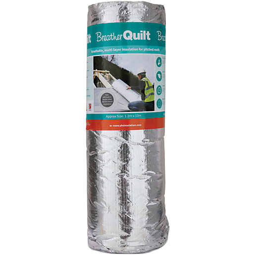 YBS Breatherquilt 2-In-1 Multifoil 40mm Insulation 1.2 x