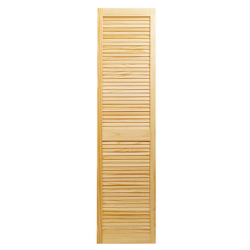 sc 1 st  Wickes & Wickes Internal Closed Louvre Door Pine - 1829 x 457mm | Wickes.co.uk