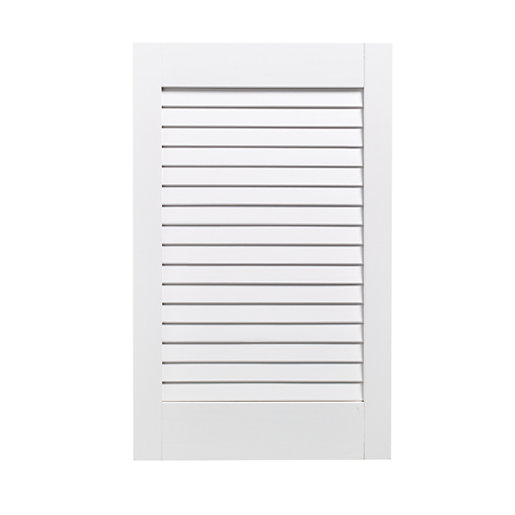 Mouse over image for a closer look.  sc 1 st  Wickes & Wickes Internal Closed Louvre Door White Primed 610 x 381mm | Wickes ...