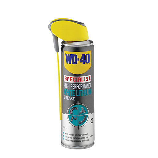 Wd 40 Specialist White Lithium Grease 250ml