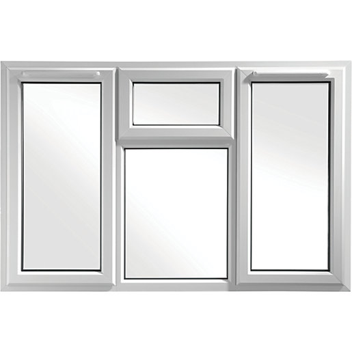 euramax bespoke upvc a rated stfs casement window white. Black Bedroom Furniture Sets. Home Design Ideas