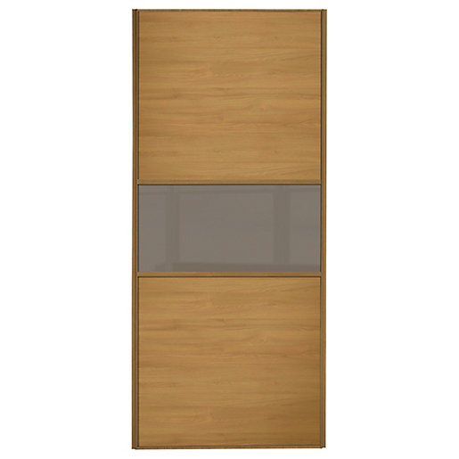 Spacepro Linear Wood Effect Frame Wideline/Fineline Sliding