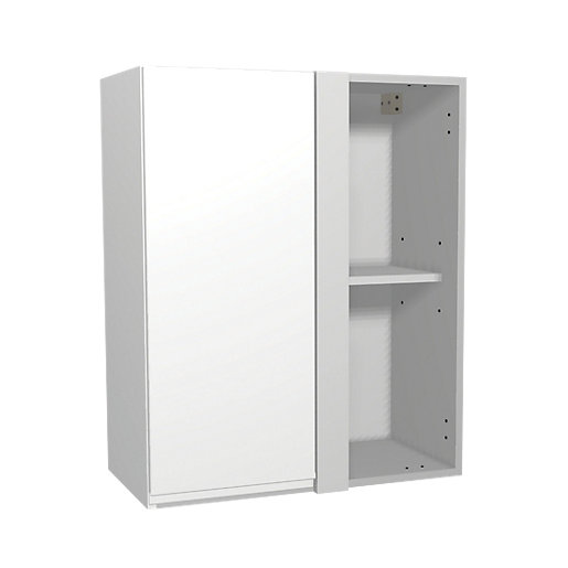 Wickes Madison White Corner Wall Unit 600mm Deal At Wickes