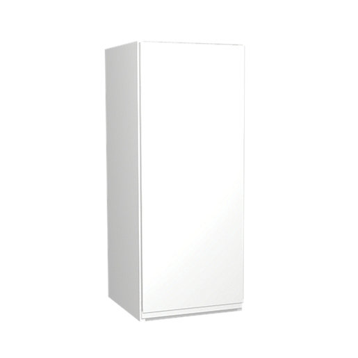 Wickes Madison White Gloss Handleless Wall Unit -