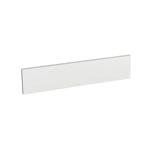 Wickes Madison White Gloss Infill Panel - 600