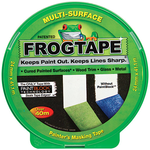 FrogTape Multi-Surface Green Masking Tape - 24mm x