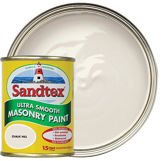 Sandtex Ultra Smooth Masonry Paint - Chalk Hill
