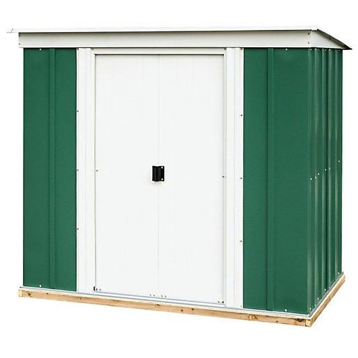 Rowlinson 6 x 4 ft Metal Pent Shed
