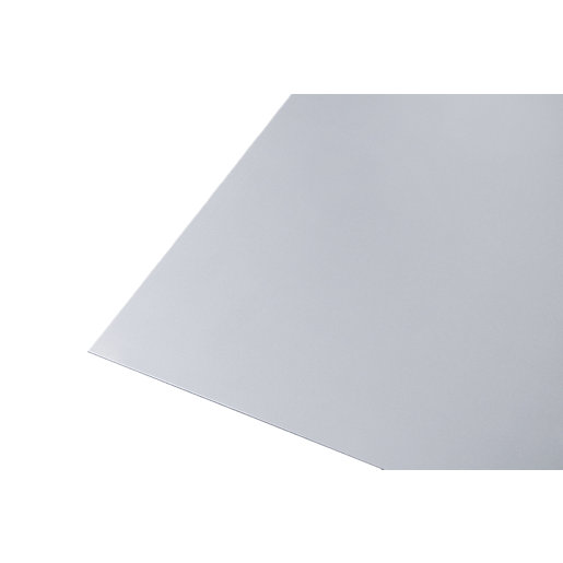 Wickes Metal Sheet Galvanised Steel - 600mm x