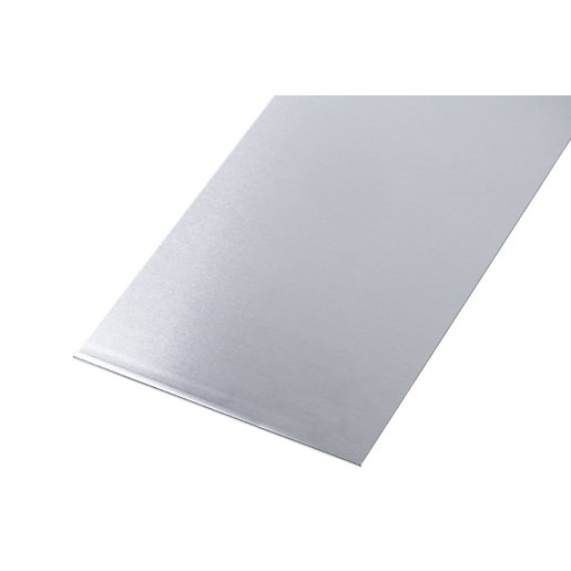 Wickes Metal Sheet Plain Uncoated Aluminium 120 x