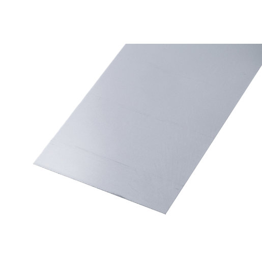 Wickes Metal Sheet Raw Steel 250 x 500mm