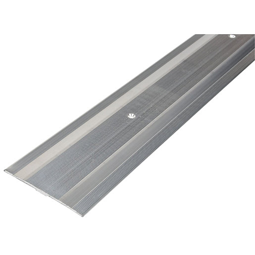 Wickes Flooring Cover Strip Silver 900mm Wickes Co Uk