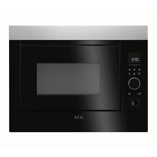 Aeg 900w Microwave Oven Mbe2658s M