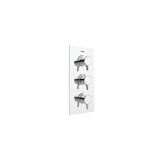Bristan Prism Recessed Shower Valve with Two Outlets