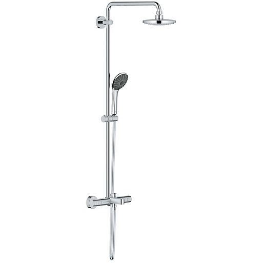 grohe vitalio thermostatic bath mixer shower system. Black Bedroom Furniture Sets. Home Design Ideas