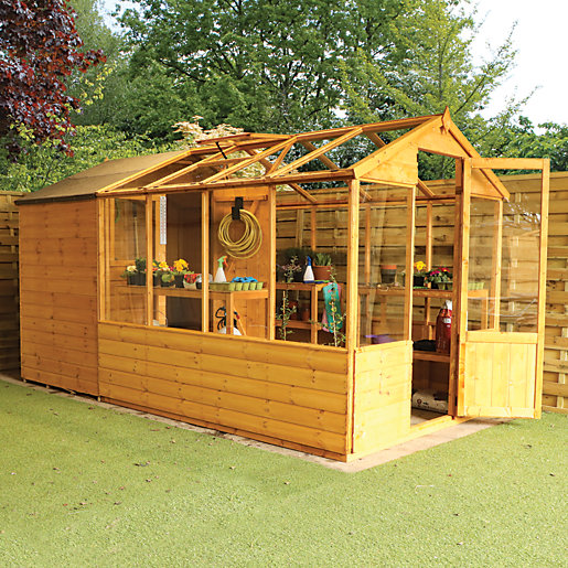 Mercia 12 x 6 ft Traditional Apex Greenhouse