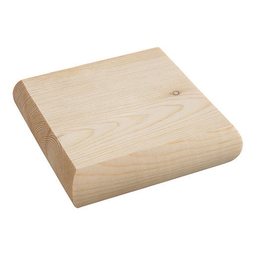 Wickes Pine Newel Cap - 90mm