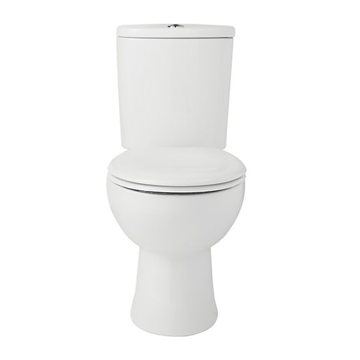 Wickes Newport Toilet Pan Close Coupled Cistern Amp Seat