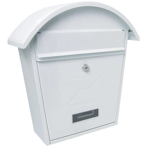 Sterling MB06 Classic 2 Post Box - White