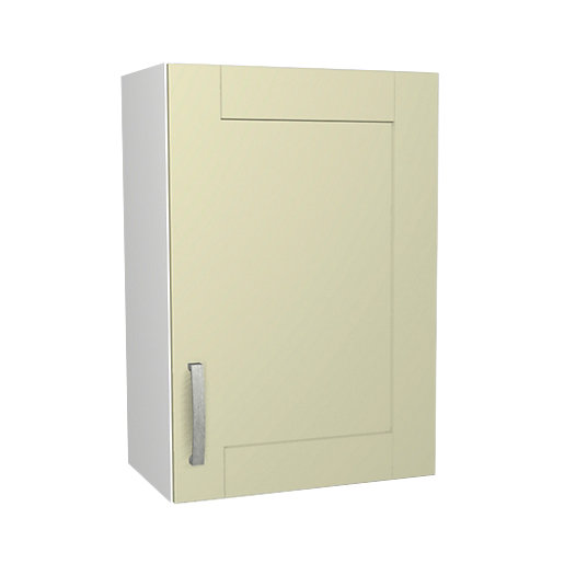 Wickes Ohio Cream Shaker Wall Unit - 500mm