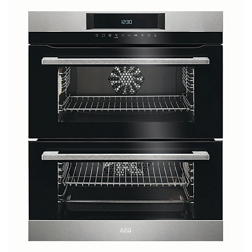 AEG Surround Cook Double Multifunction Stainless Steel Electric