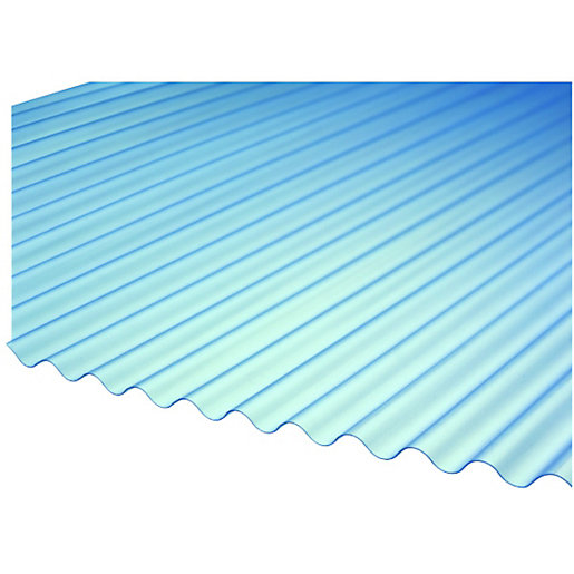 Wickes Mini Profile Corrugated Sheet 660 X 2400mm Wickes